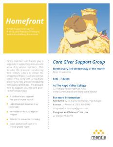 Homefront Flyer