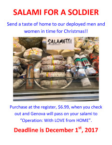SALAMI FOR A SOLDIER (1)