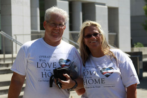 The founders of Operations with love from home