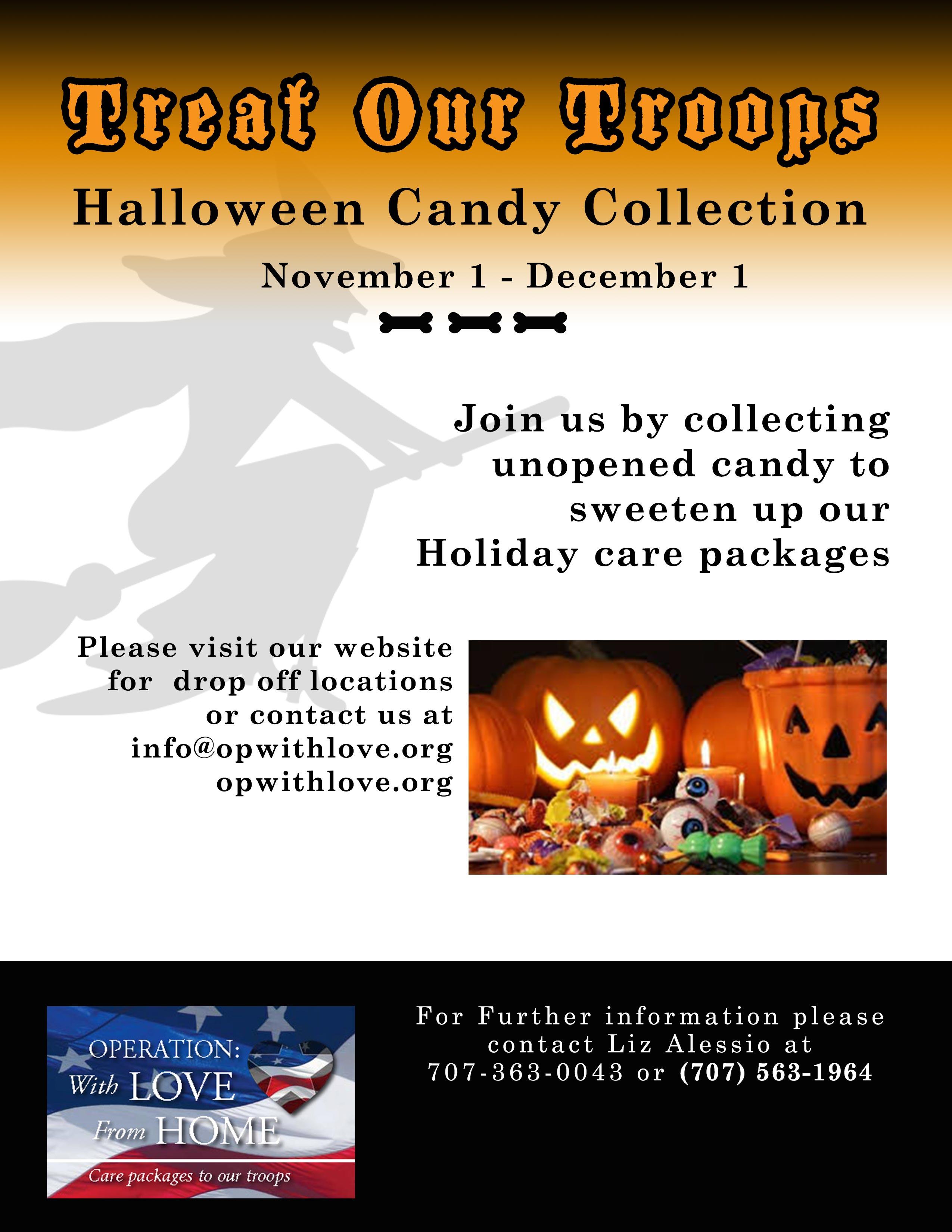 25+ Candy Donation Request Flyer Pics - FreePix